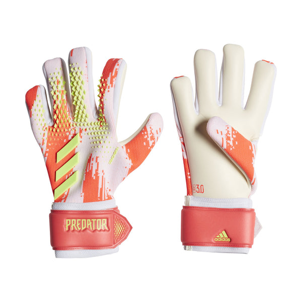 ADI PREDATOR20 GLOVES LEAGUE WHITE/POP ORANGE
