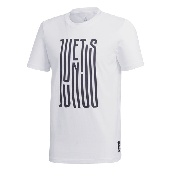 ADI JUVE 20-21 STREET GRAPHIC TEE WHITE/BLACK