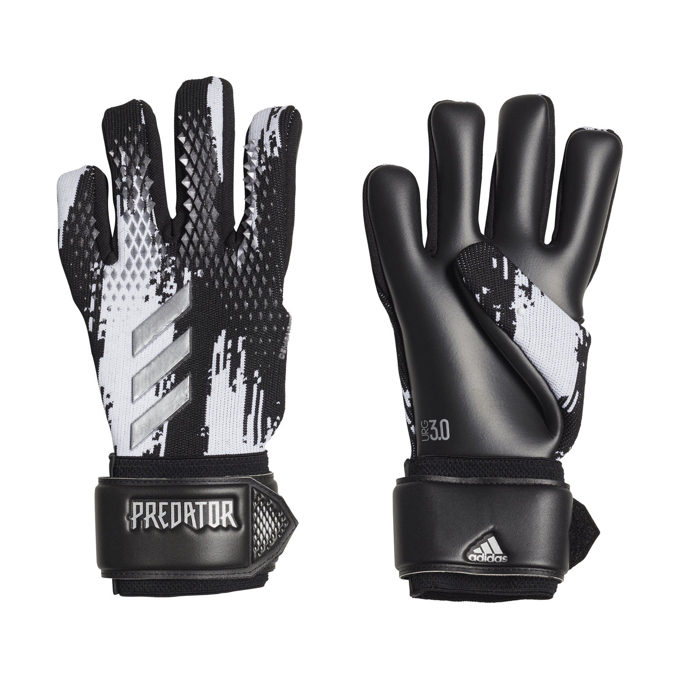 ADI PREDATOR20 LEAGUE GLOVE BLACK/WHITE/SILVER