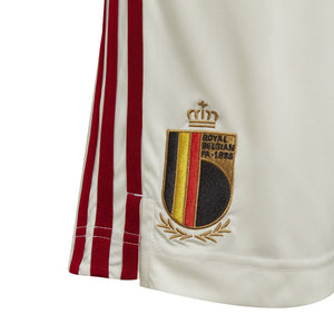 ADI JR BELGIE 20 AWAY SHORT OFF WHITE