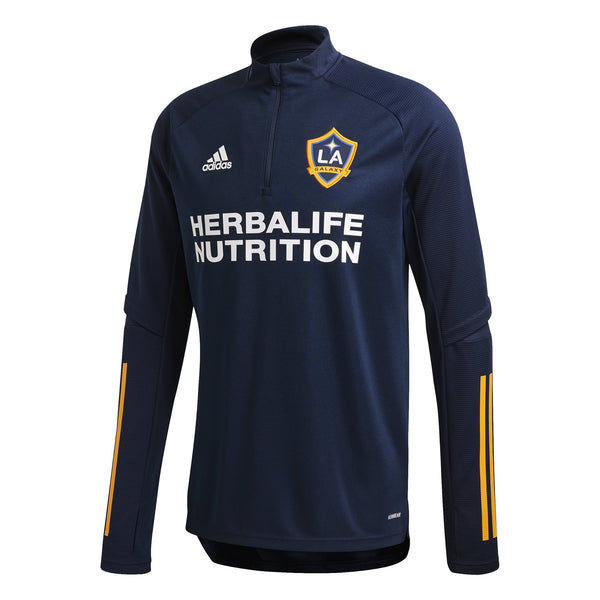 ADI LA GALAXY 19-20 TRG TOP COLLEGIATE NAVY/GOLD