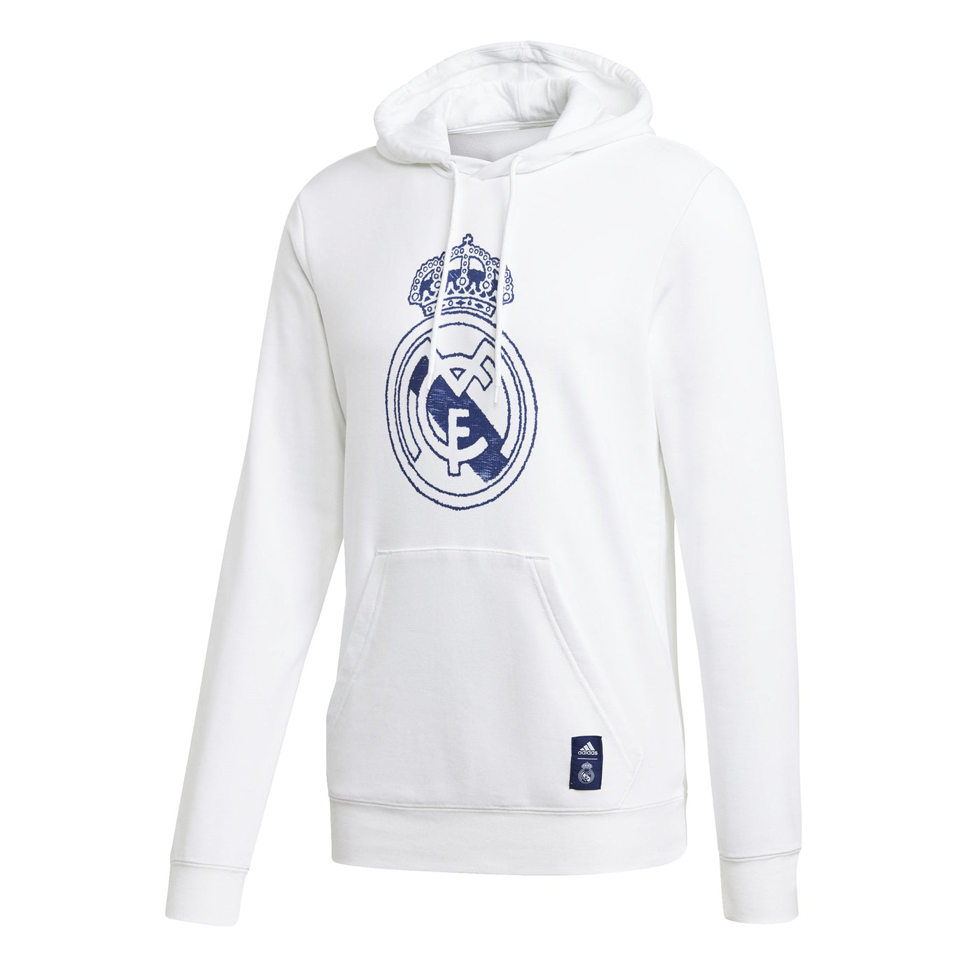 ADI REAL 20-21 DNA HOODY WHITE/DARK BLUE