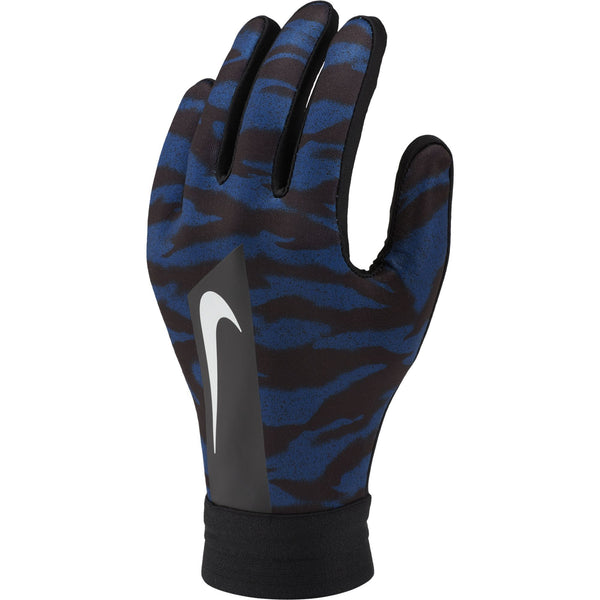 NIKE JR HYPERWARM ACADEMY GLOVE BLACK/BLUE