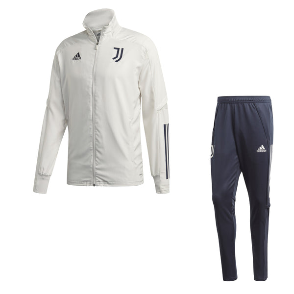 ADI JUVE 20-21 PRE SUIT ORBIT GREY/LEGEND INK