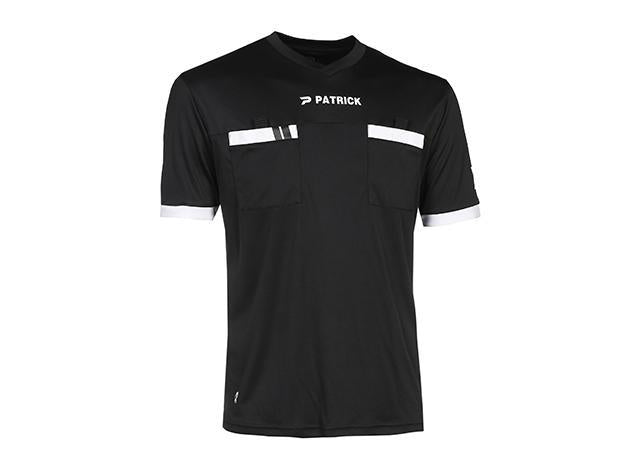 PATRICK REF101 REFEREE SHIRT SS BLACK