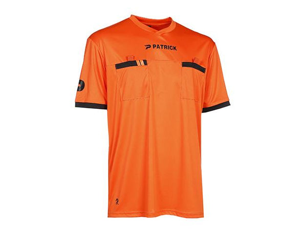 PATRICK REF101 REFEREE SHIRT SS ORANGE