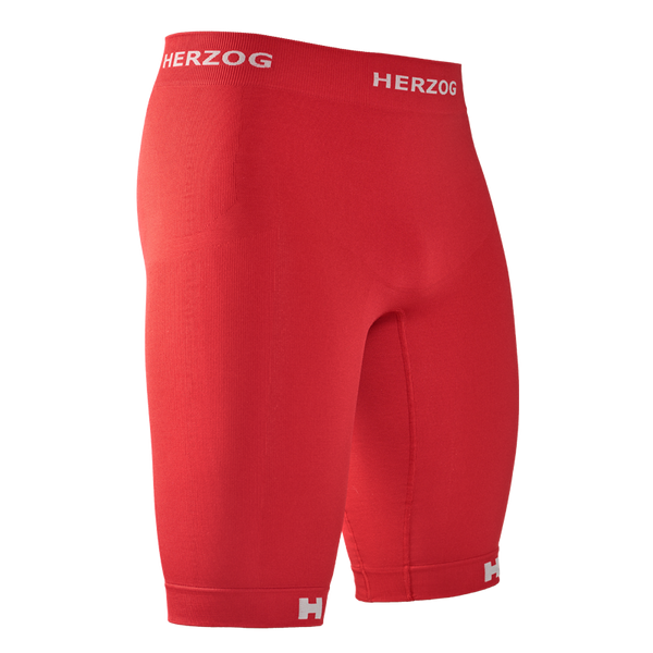 HERZOG PRO COMPRESSION SHORT RED