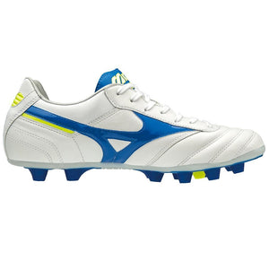 MIZUNO MORELIA MD WHITE/WAVE CUP BLUE/YELLOW