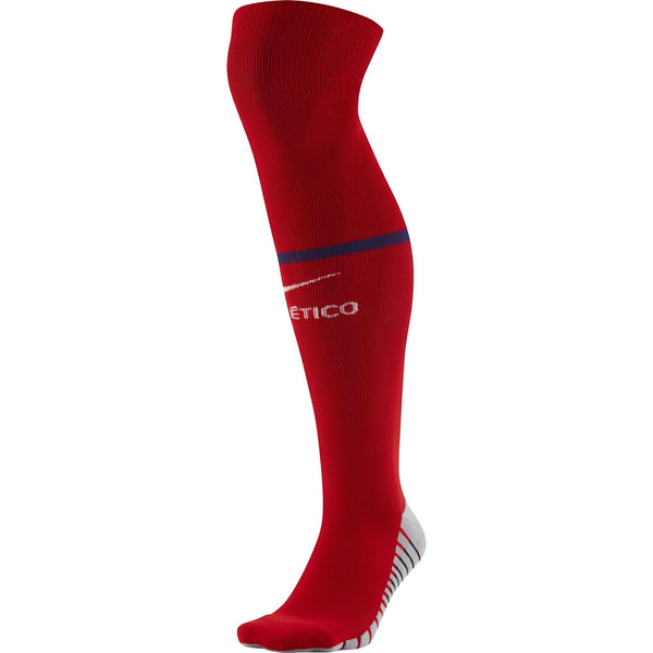 NIKE ATLETICO 19-20 HOME SOCK SPORT RED/ROYAL/WHITE