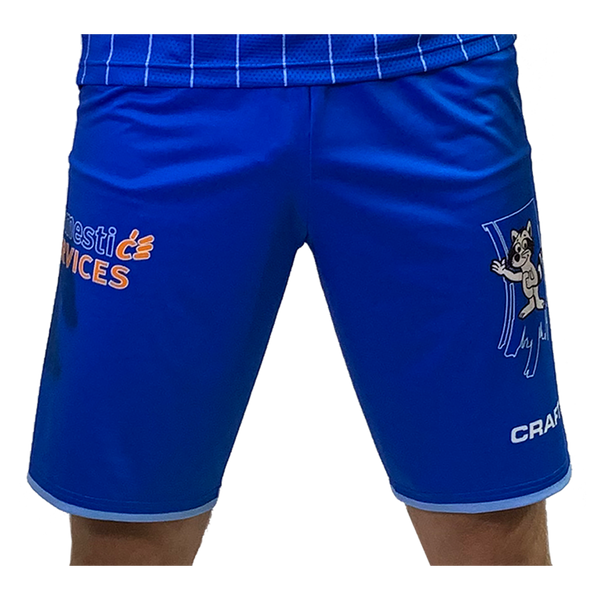 CRAFT JR GENT 19-20 HOME SHORT ROYAL/WHITE