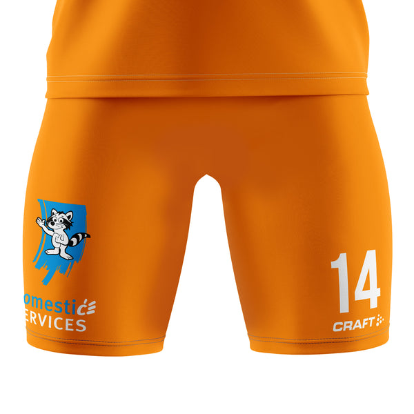 CRAFT JR GENT 20-21 AWAY SHORT ORANGE
