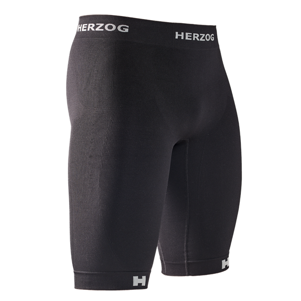 HERZOG PRO COMPRESSION SHORT BLACK