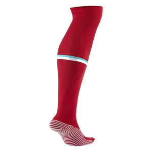 NIKE LIVERPOOL 20-21 HOME SOCK GYM RED/WHITE