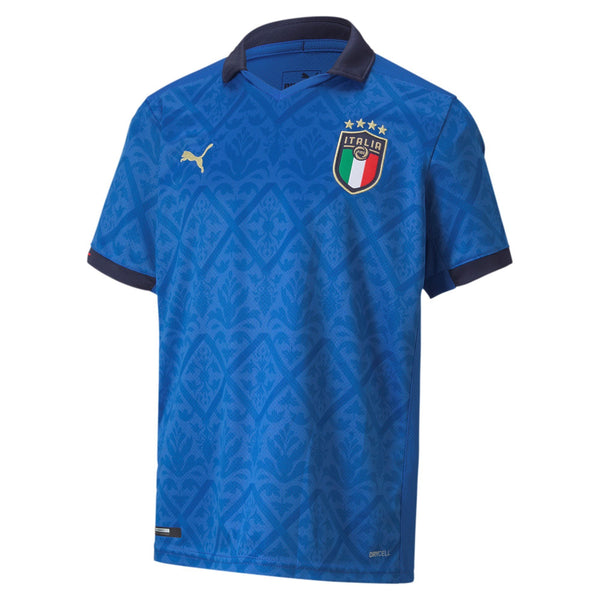 PUMA JR ITALIA 20 HOME JERSEY PEACOAT/WHITE