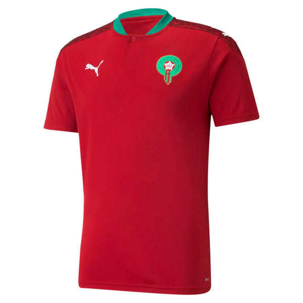 PUMA MAROKKO 20 HOME JERSEY CHILI PEPPER/WHITE