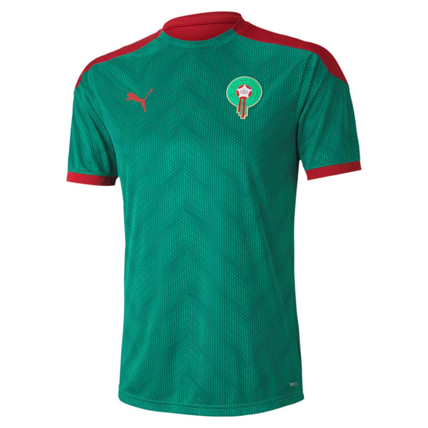 PUMA MAROKKO 20 STADIUM JERSEY PEPPER GREEN/CHILI PEPPER