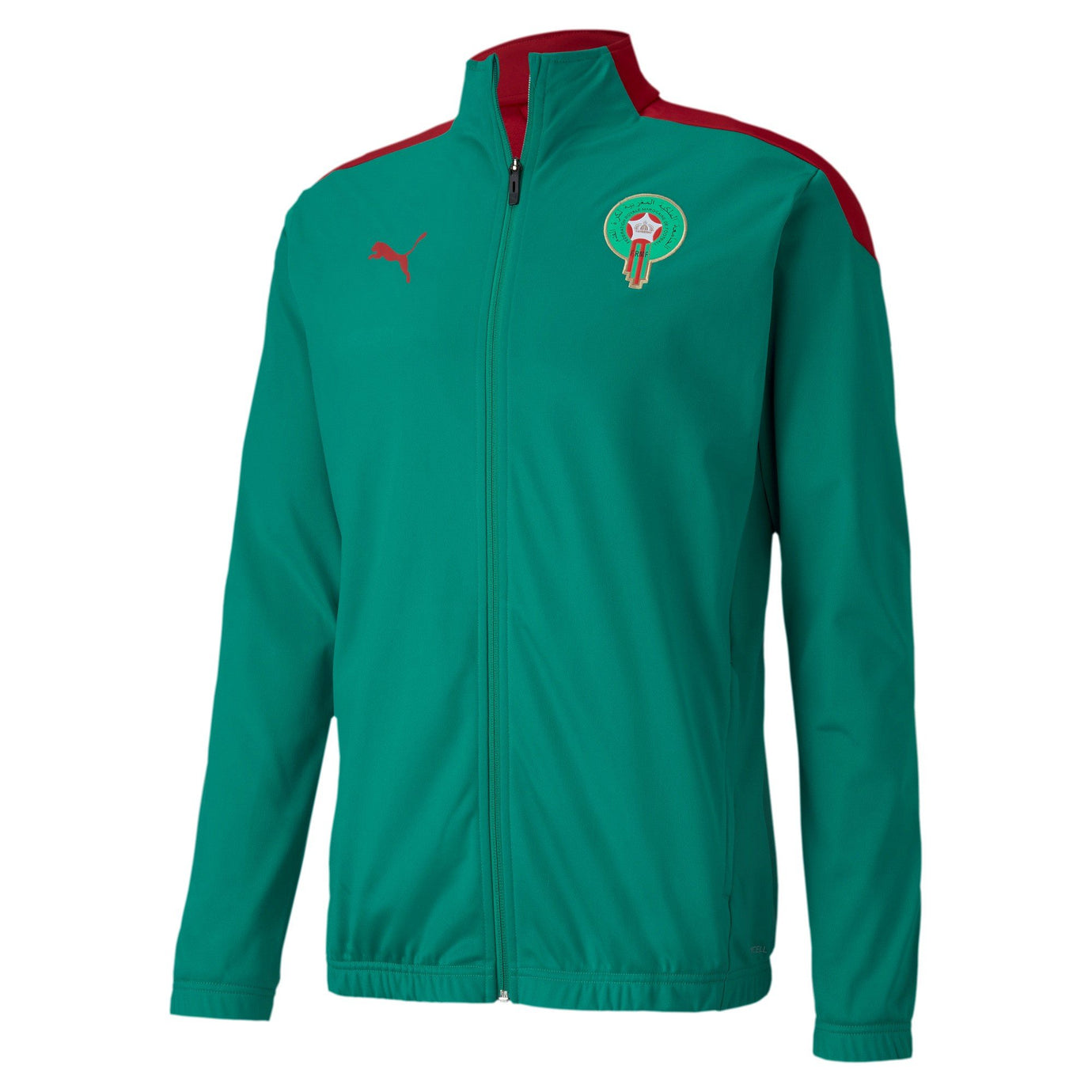 PUMA MAROKKO 20 STADIUM JACKET PEPPER GREEN/CHILI PEPPER