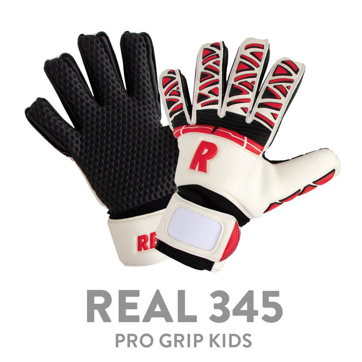 REAL JR 345 PRO GRIP WHITE/RED