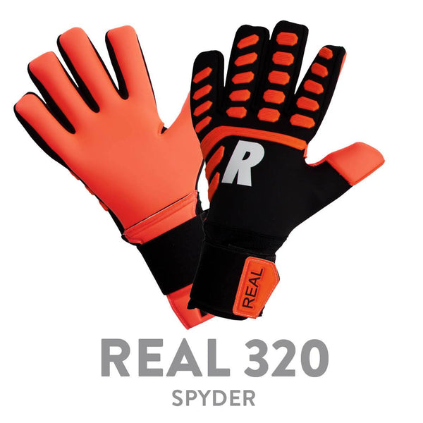 REAL 320 SPYDER THERMO BLACK/ORANGE