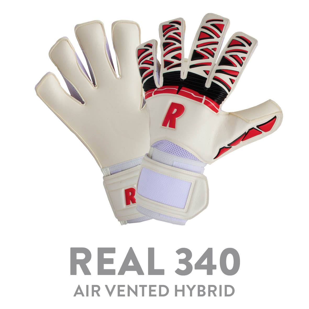 REAL 340 AIR VENTED HYBRID WHITE/RED/BLACK