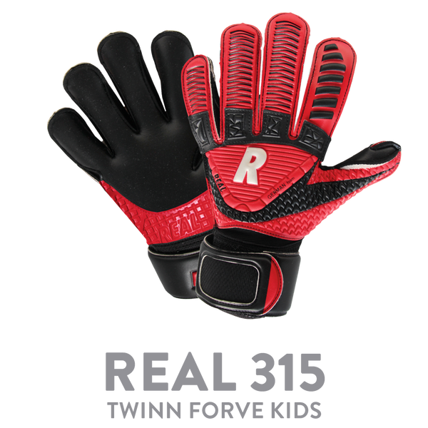 REAL JR KPHSCH 315 TWINN FORCE BLACK/RED