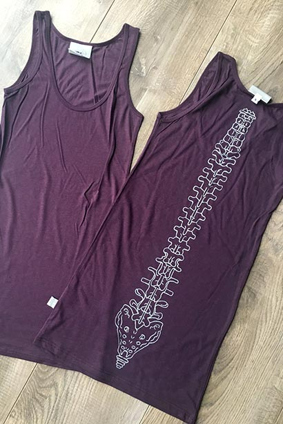 Long line Bamboo Vest - Print Variations