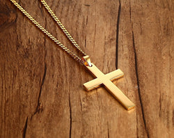 Classic Style Cross Necklace