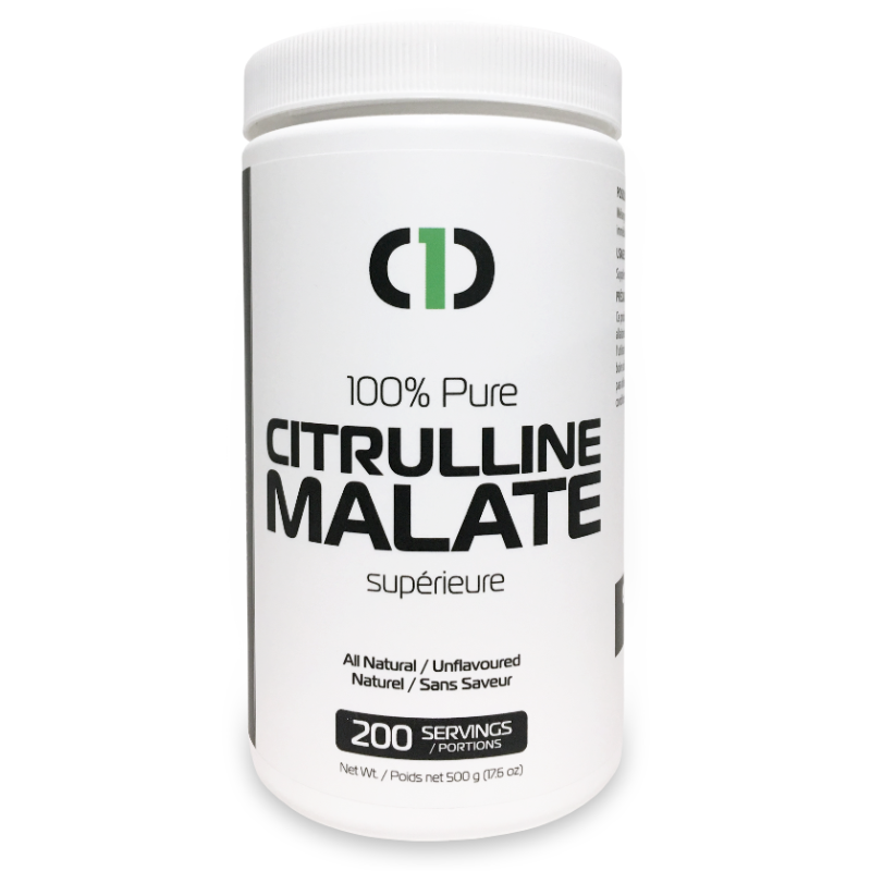 Citrulline Malate 100% PURE (500g) 1.1lbs (2:1 Citrulline to Malate) | Energy, Pump & Endurance