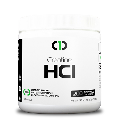 Creatine HCl Powder 100% PURE VEGAN (200 Servings)