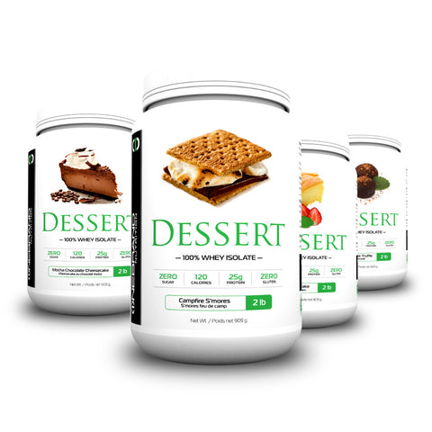 DESSERT 2lb | 100% Whey Isolate Protein with ZERO Sugar