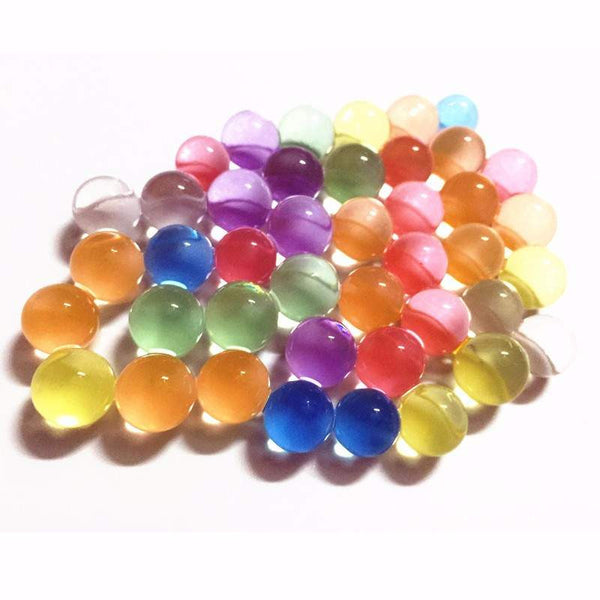10000 Pearl shaped Crystal Soil Water Beads for Water guns-PinkPinker