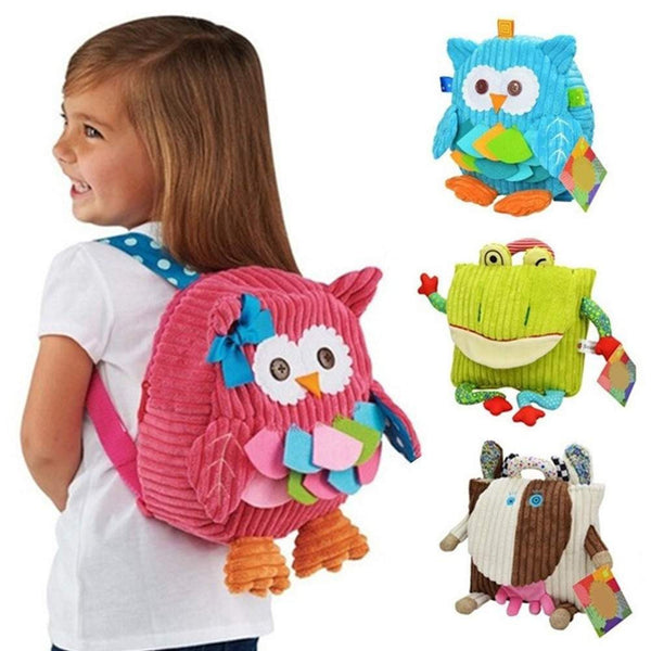 3D back pack for kids - for girls and boys-PinkPinker