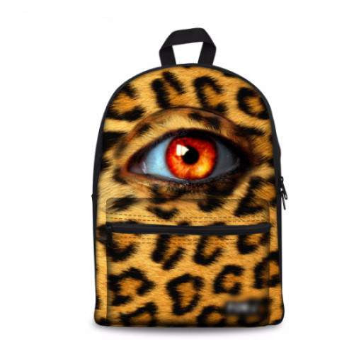 3D Printed Eye design Backpack for Girls and Boys - AA01-PinkPinker
