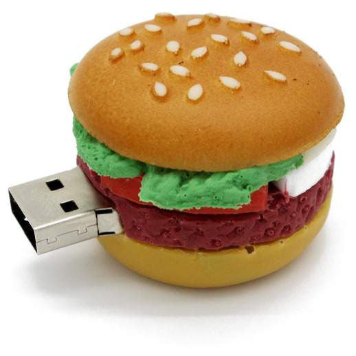 Creative Watermelon - hamburger- sushi Flash Memory - 4GB- 8GB- 16GB- 32GB- 64GB-PinkPinker