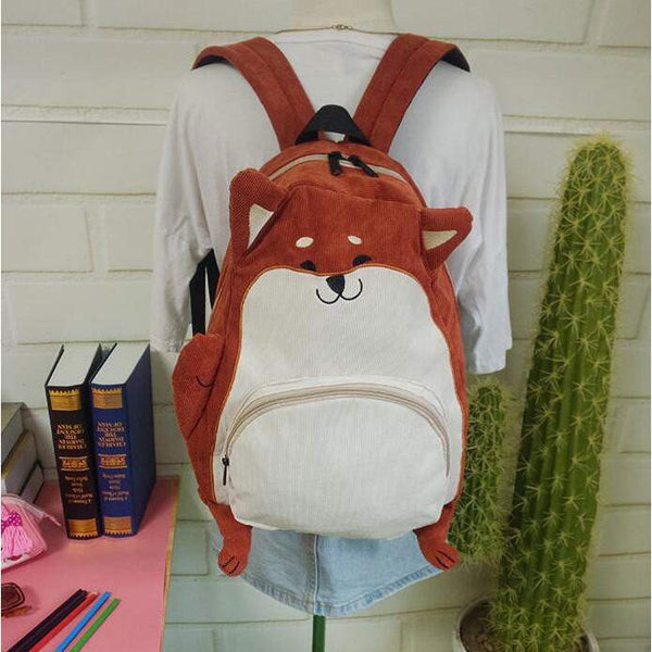 Cute Animal backpack 001-PinkPinker