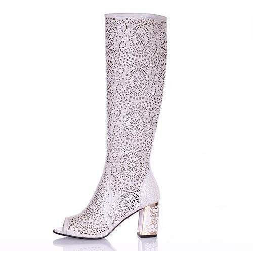 Fancy Summer Women's Boot - code SWB002-PinkPinker