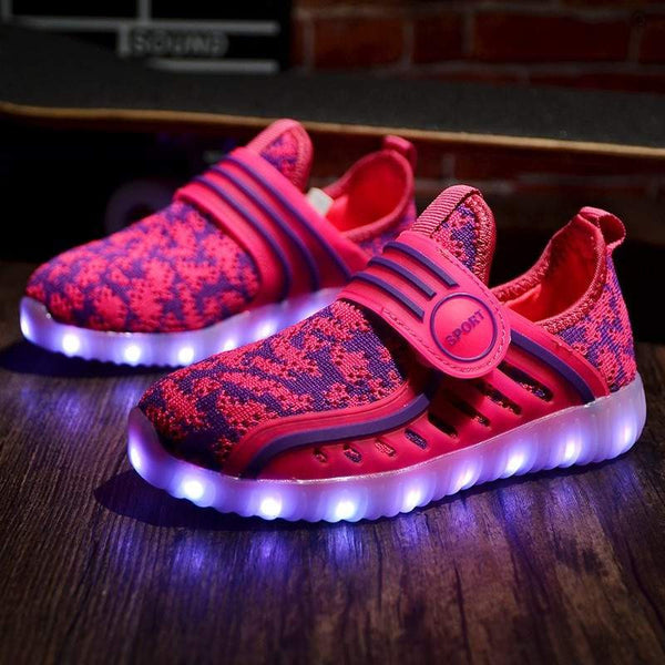 Fasion LED Kids shoe -in 4 colors code NEG010006-PinkPinker