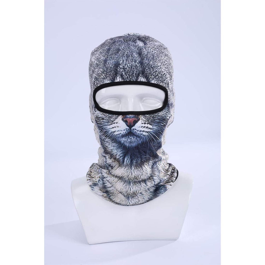 Funny 3D Mask - Neck and Face Cap-PinkPinker