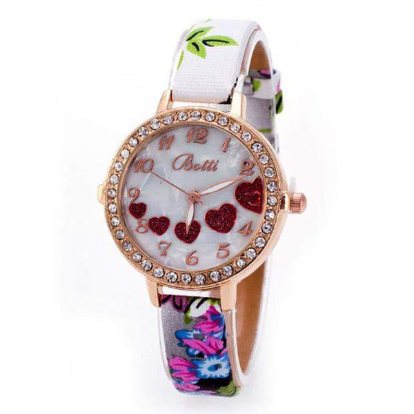Laxuary Fashion Watches for women - Heart-PinkPinker