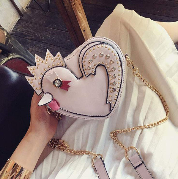 Amazing Chick shape Shoulder Bag for Woman and Girls-PinkPinker