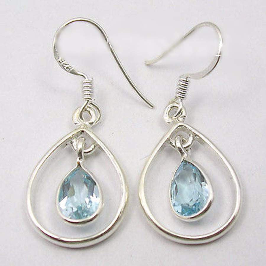 Sterling Silver Jewelry SEMI PRECIOUS Natural Stone Jewelry-PinkPinker