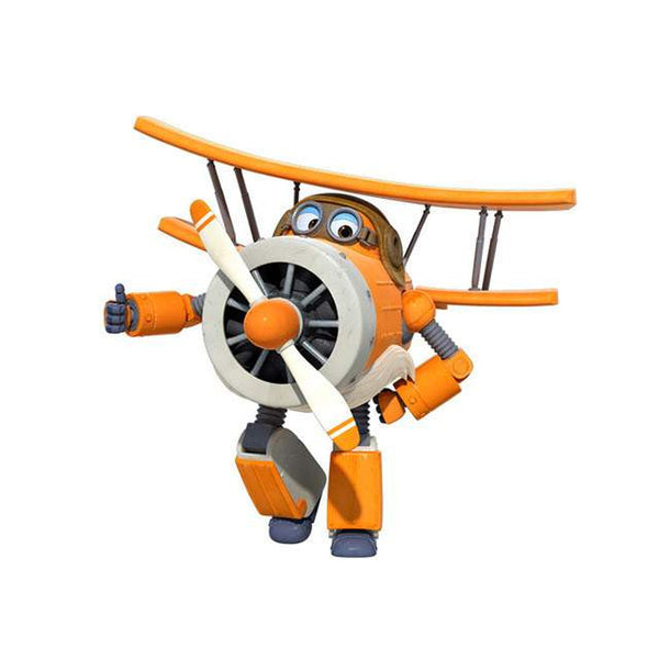 Super Wings Transformation Airplane - Robot-PinkPinker
