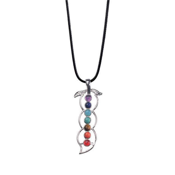 Yoga Natural Stone Chakra Necklaces - Reiki Healing-PinkPinker