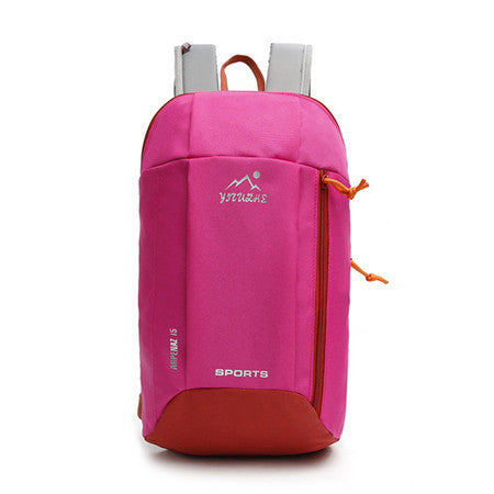 New Waterproof Backpack for Women and Men- climbing Bag- teenager boy girl day pack-PinkPinker