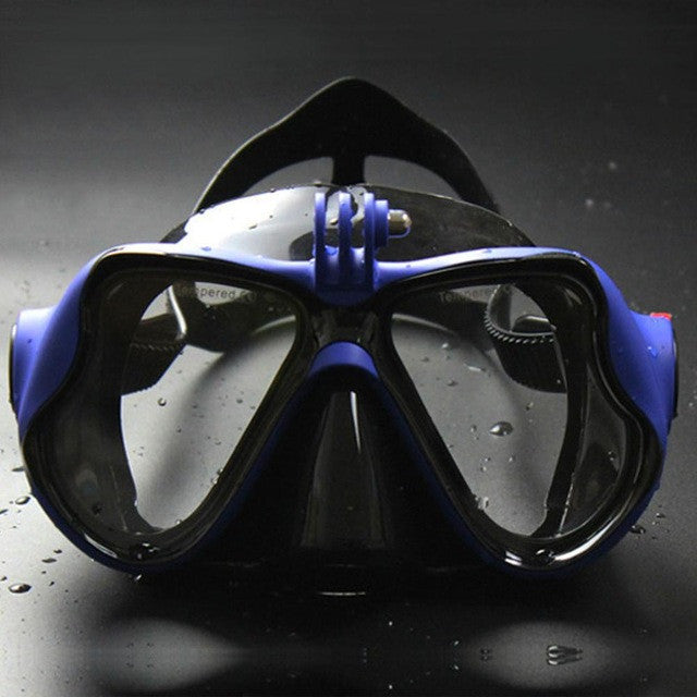 Underwater Diving Mask for Camera, Swimming Goggles for Sports Camera-PinkPinker