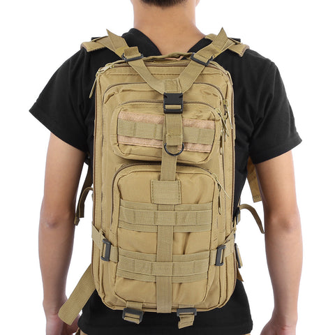 Tactical Backpack for Camping Hiking Travel, camping accessories-PinkPinker