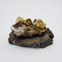 Brookite on Quartz