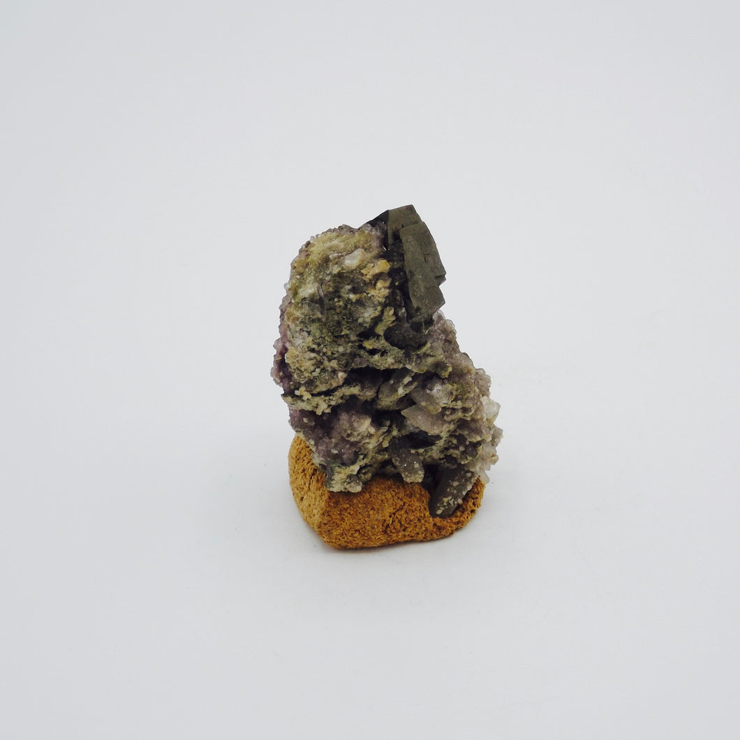 Arsenopyrite with Quartz and Amethyst