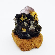 Fluorite with Arsenopyrite