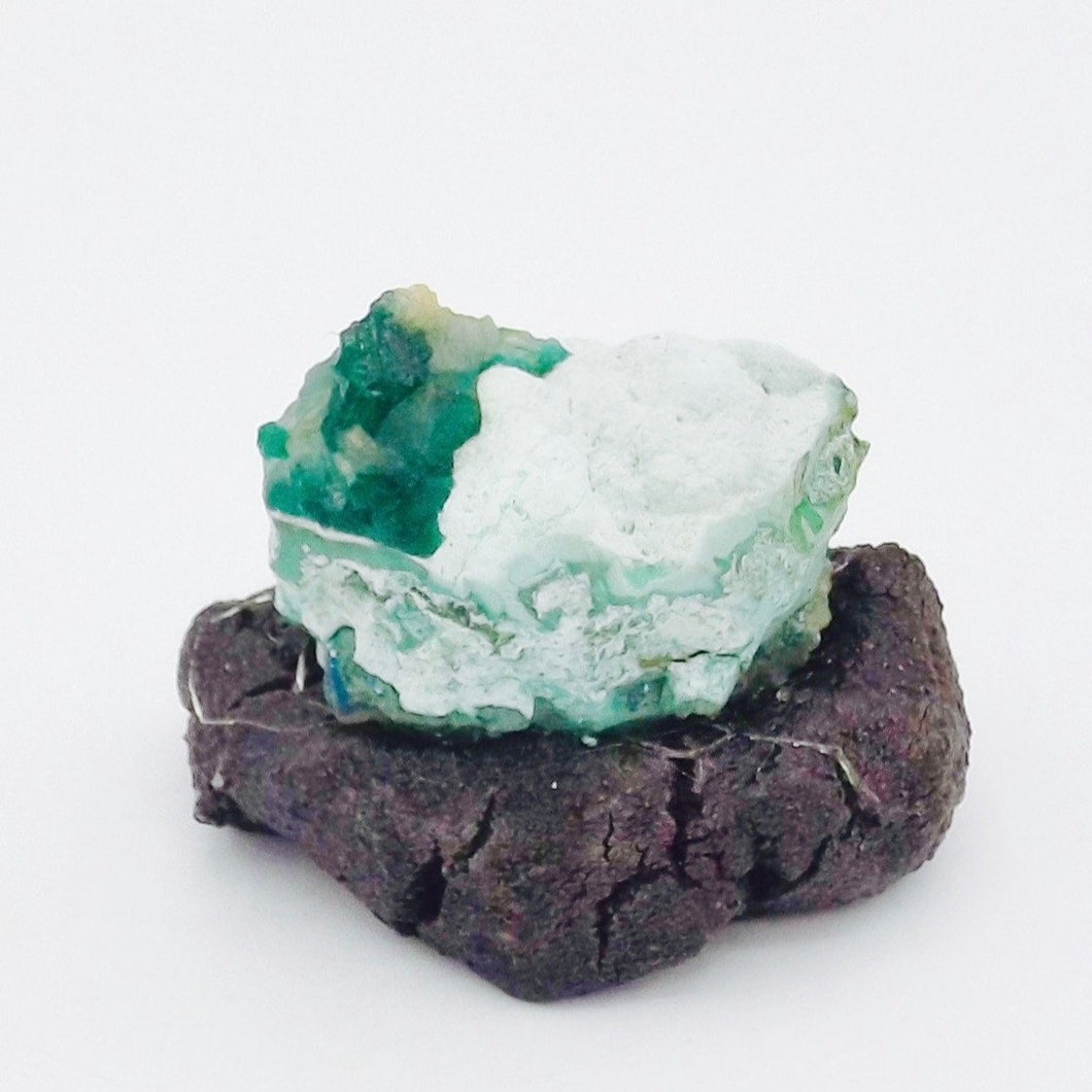 Dioptase on Chrysocolla